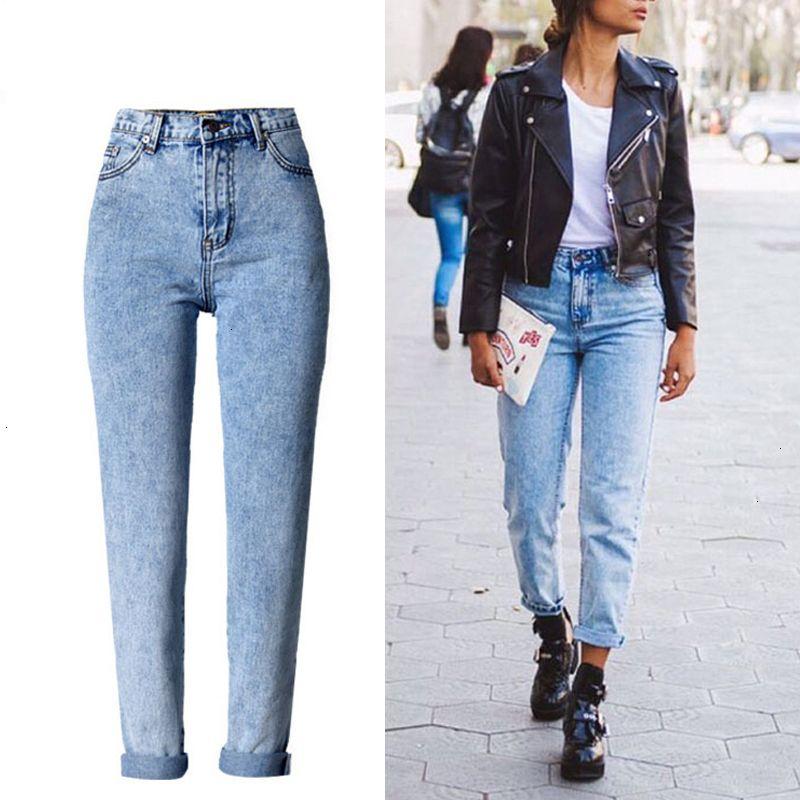 Bayanlar Jeans Kadın Tasarımcı Pantolon Kadınlar Mavi Yüksek Bel Kot Gevşek Bayanlar Skinny Jeans Annem için Kış Katı Yıkama ağartılmış Kadın Jeans