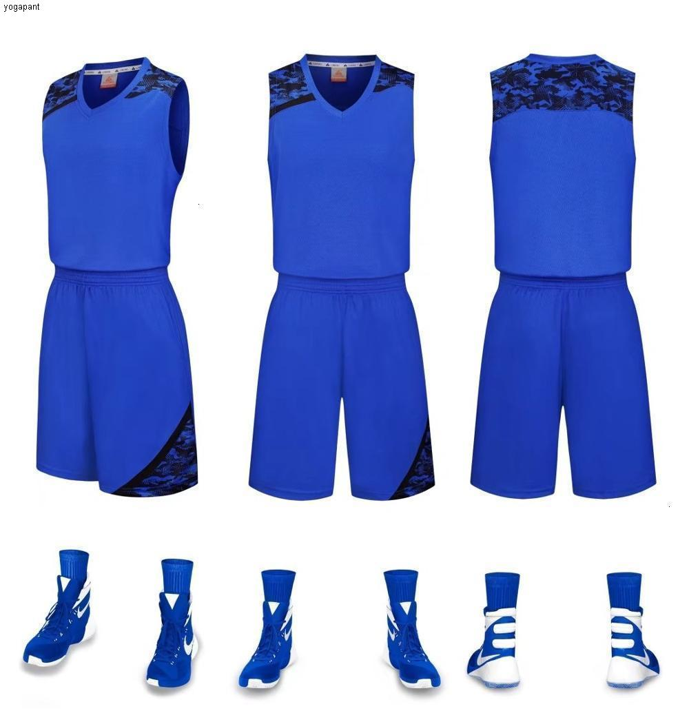 7 Basketball Männer Jersey Sets Uniformen Breathable Günstige Throwback Basketball Sportjerseys Basketballshorts Quick Dry DIY-Pullover