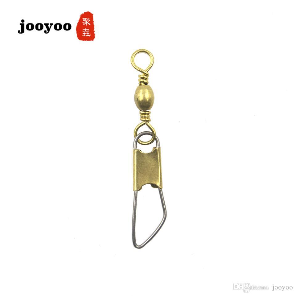Otto tipo di raccordo connettore canna girevole con perno a scatto di sicurezza raccordo pin accessori pesca attrezzi all'ingrosso jooyoo