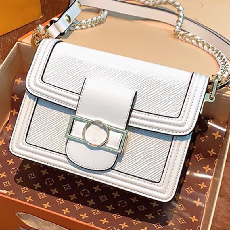 Sacchetto nero di modo all'ingrosso frizione cuoio di alta qualità borse della donna Evening Bag Shoulder Bag Messenger Size 20cmx15cm Type1