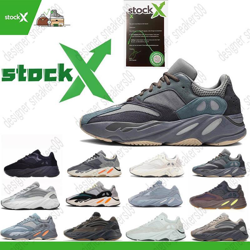2020 700 Vanta Runner Kanye West Geode estática malva onda Mens Mulheres Athletic Inércia OG Shoes sólido cinzento Sports Sapatilhas 36-46