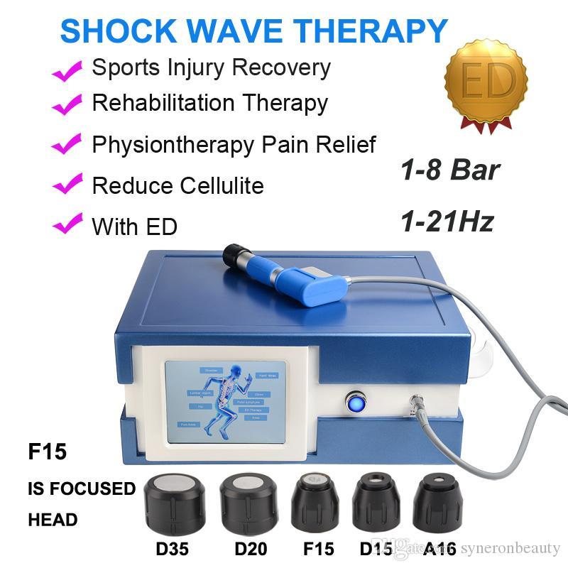 8bar Schritt für 0,5bar Stoßwelle Stoßwelle Gelenke Schmerzen männlich Sexuelle Dysfunktion behandeln ED-Therapie
