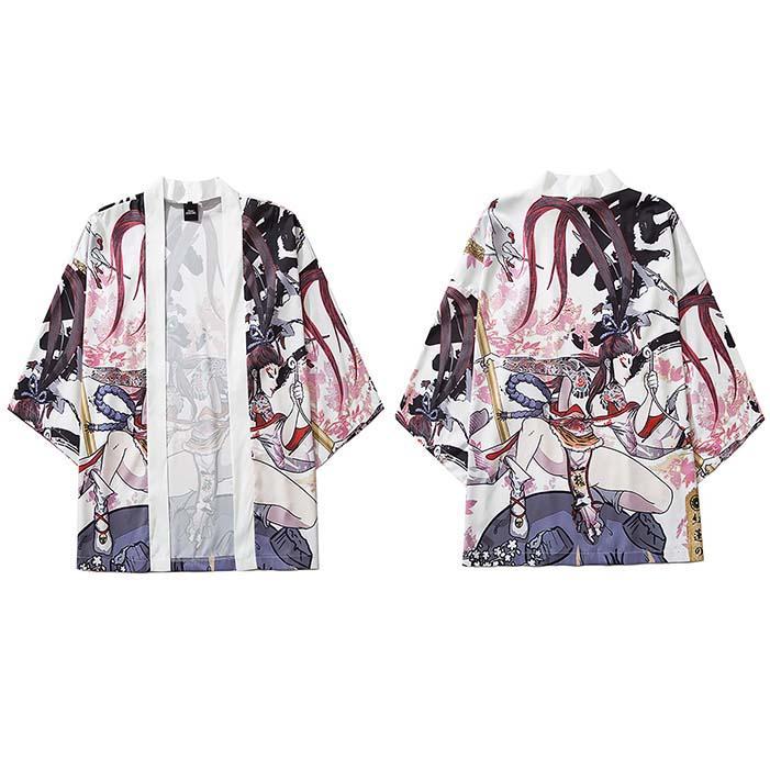 Japanese Kimono Jacket Fairy Tattoo Killer Harajuku 2020 Hip