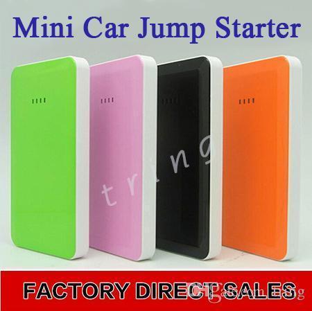 Nueva 12v Mini Slim del salto del coche cargador de batería de arranque delgado Banco de alimentación multi -Función automática Eps energía del coche de inicio cargador del teléfono móvil