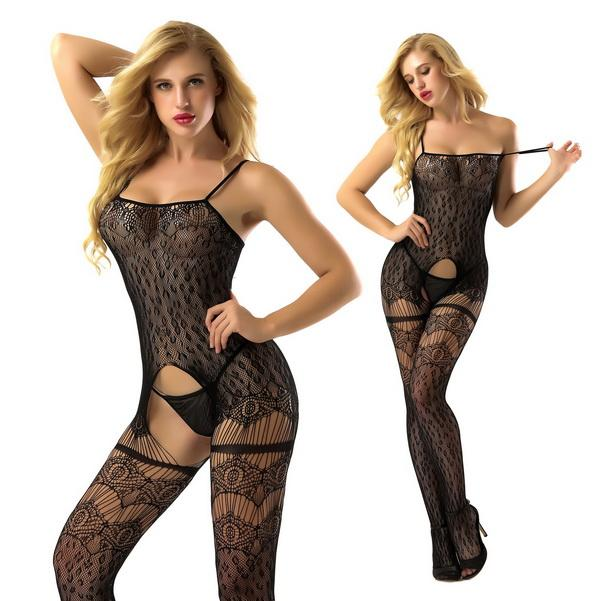 853D Women Black Sexy Stockings Lingeries See-through Pantyhose