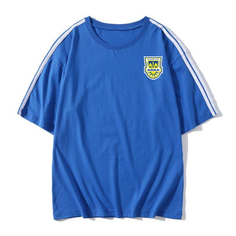 arka gdynia Soccer T-shirt Soccer Jerseys Short Sleeves T-shirt arka gdynia Loose men Soccer training jerseys Football Shirt Fans Tops Tees