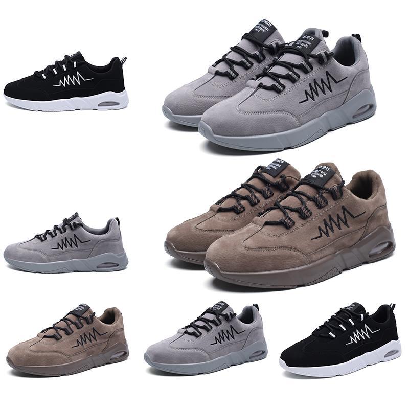 Homemade marca di modo delle donne degli uomini Cuscini scarpe firmate Bianco Marrone Nero Cuoio Plaform scarpe da ginnastica Scarpe casual sportive Made in China 39-44