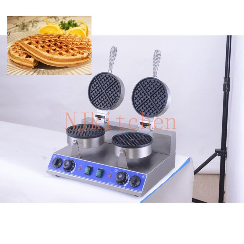 HT23W 40cm Big Size Single-head Pancake Machine 220V 110V Non-stick French Crepe Maker Pan Grill Cooking Iron Plate