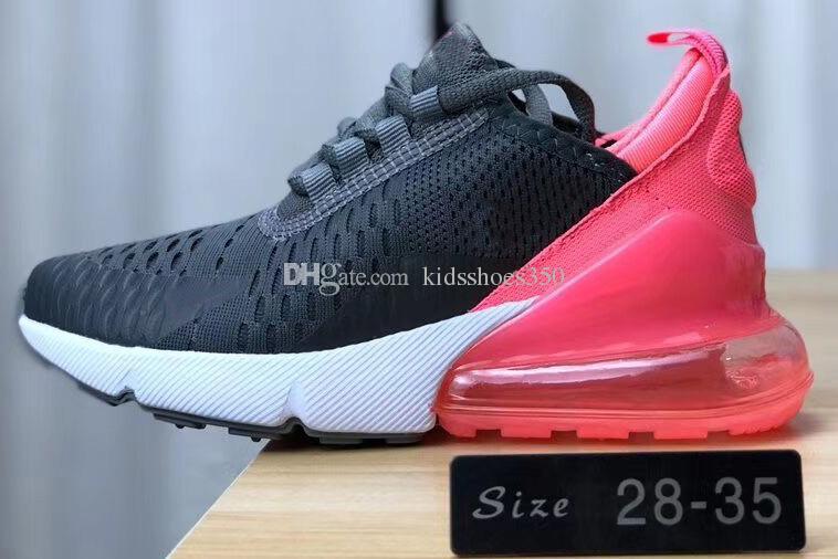 Großhandel Nike Air Max 270 27c Kinder Design Flair 27 Schuhe Training Sneakers Kinder Laufschuhe Für Männer Frauen Zu Fuß Sport Sportschuh Von