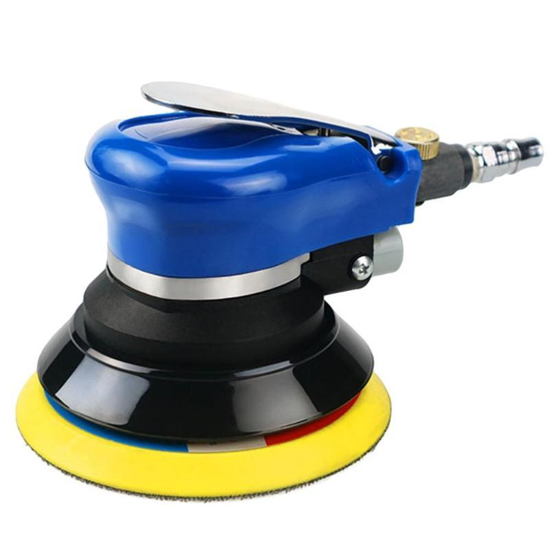 5 pouces cire de voiture polisseuse automobile Polisseuse cosmétiques Seal Glaze machine à cirer avec clé avec US Plug (Bleu)