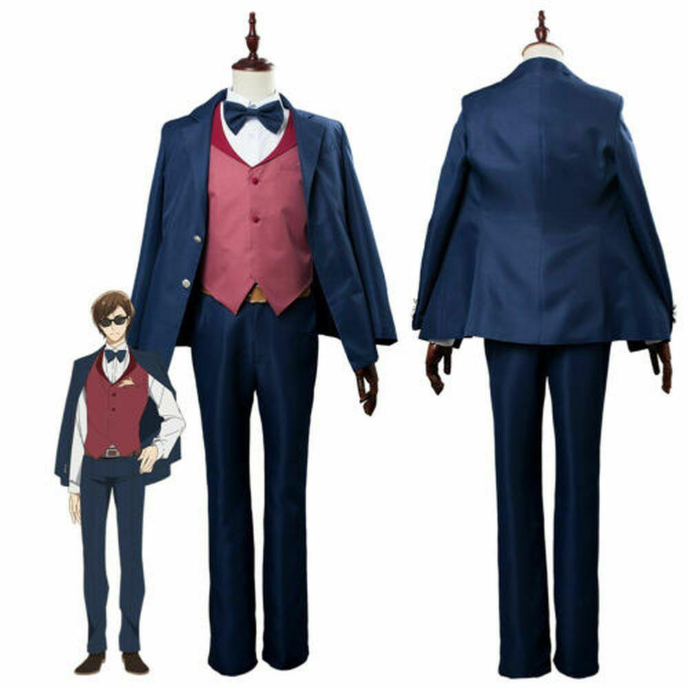 Anime ZOMBIE LAND SAGA Kotaro Tatsumi Zombieland Uniform Outfit Cosplay Costume