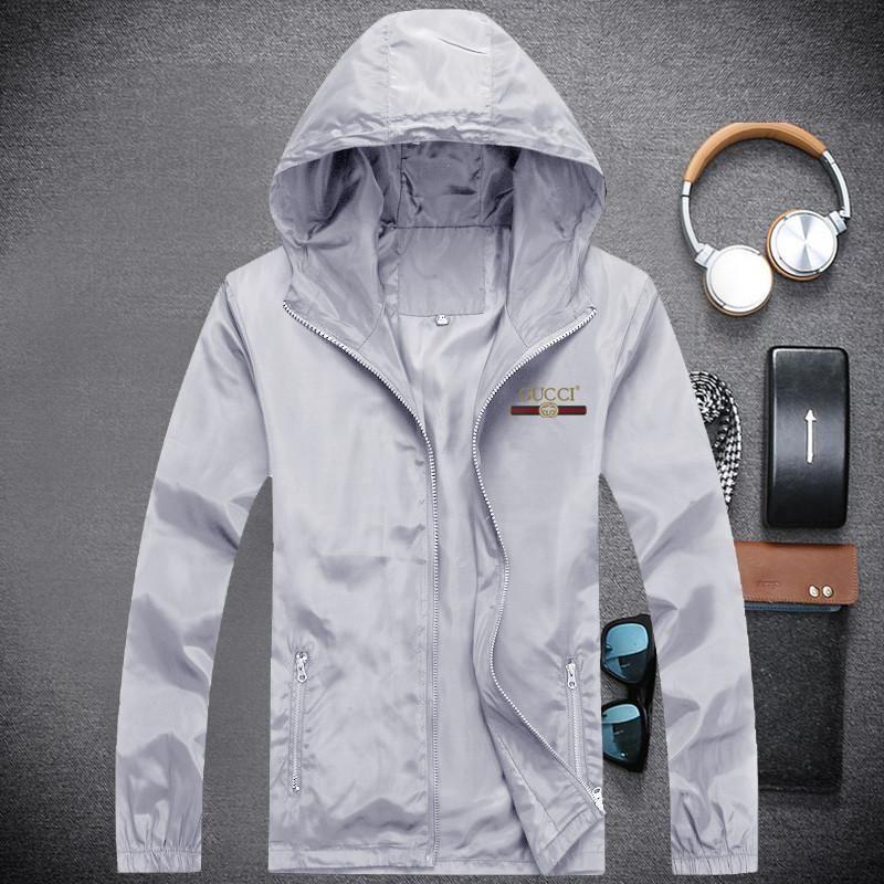 Louis Vuitton GUCCI 2019 hombres top manga larga chaqueta de cuero casual chaqueta de cremallera moda casual chaqueta de cuero W2