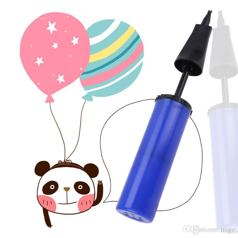 Balloon pump balloon air inflator hand held latex balls party foil balloons ZN