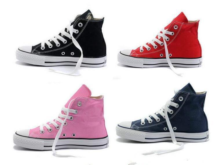 2020 Новое качество Классический Low-Top High-Top холст Повседневная обувь Мужская Женская обувь холст Размер EU35-46 розничные