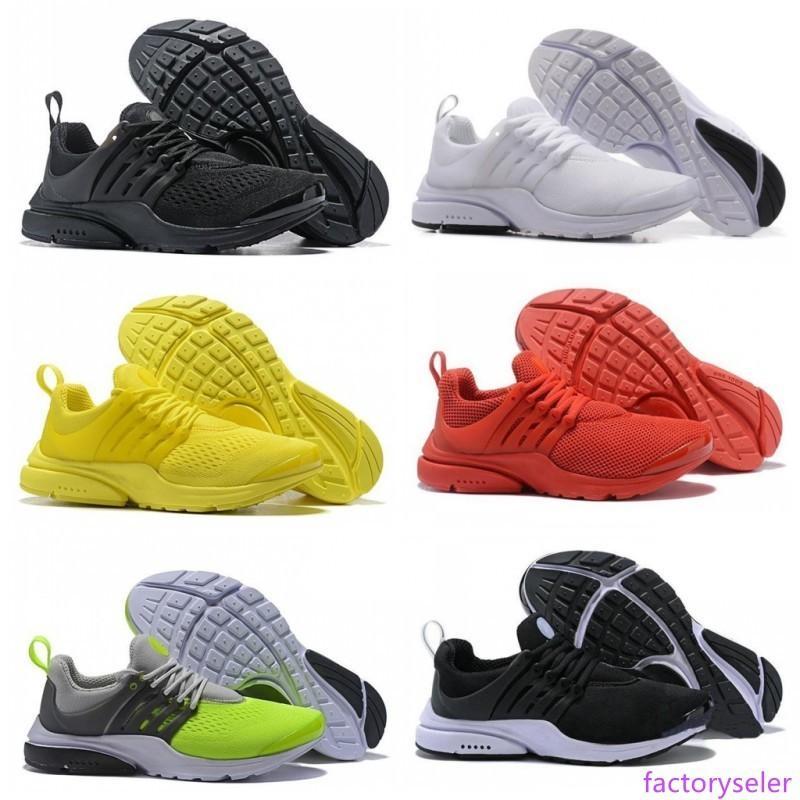 Nouvelle arrivée Designer Presto Chaussures de course ultra 5 BR QS pour les hommes femmes blanc noir jaune rouge hommes formateurs coureur en plein air baskets de sport