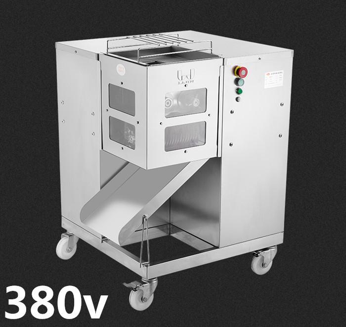 Freies Verschiffen 380V QSJ-G Heißer Verkauf Multifunktions Fleischschneidermaschine, 800kg / h, Fleischschneider Fleisch