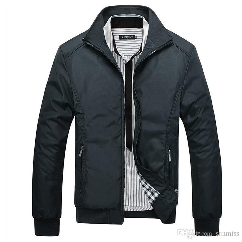 Veste Hommes Manteau Casual Bomber Vestes Hommes Outwear Coupe-vent manteau jaqueta masculina veste homme marque vêtements