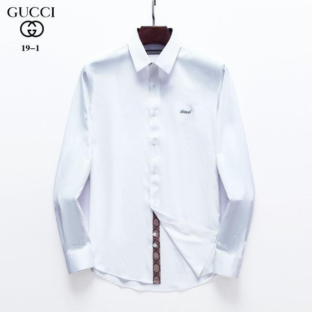 camiseta de la marca de negocio auto-cultivo marca de diseñador de moda camisa plaid0 Americana de 2020ss nuevos hombres de manga larga de algodón casual M # 25