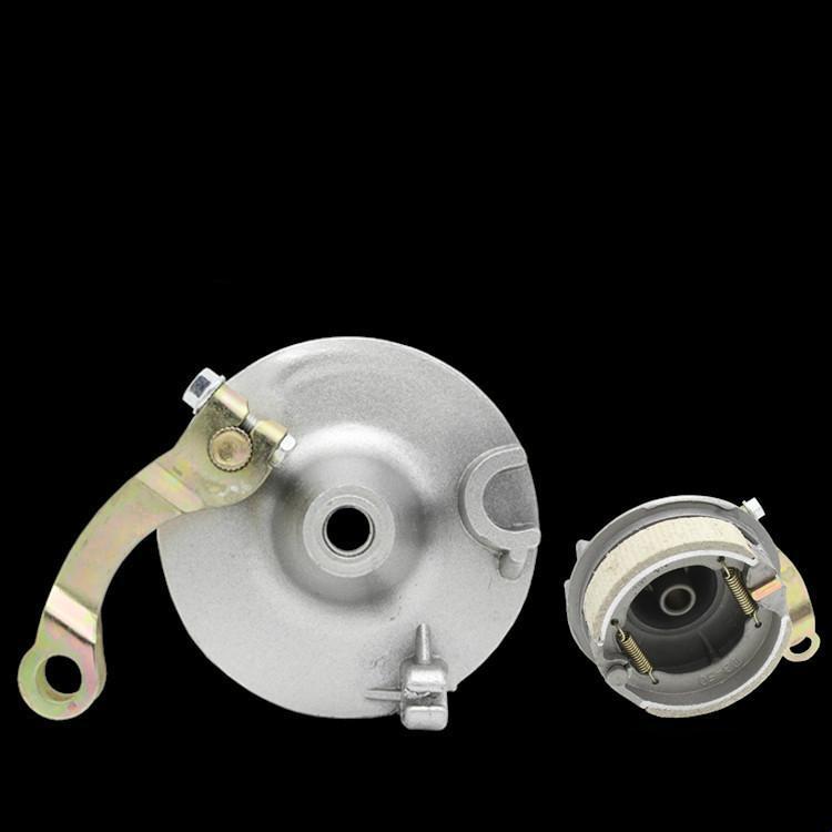 Передние тормозные сборка электрической сборке автомобилей Мулан 50 передний барабан тормозной барабан крышка 50 передний блок