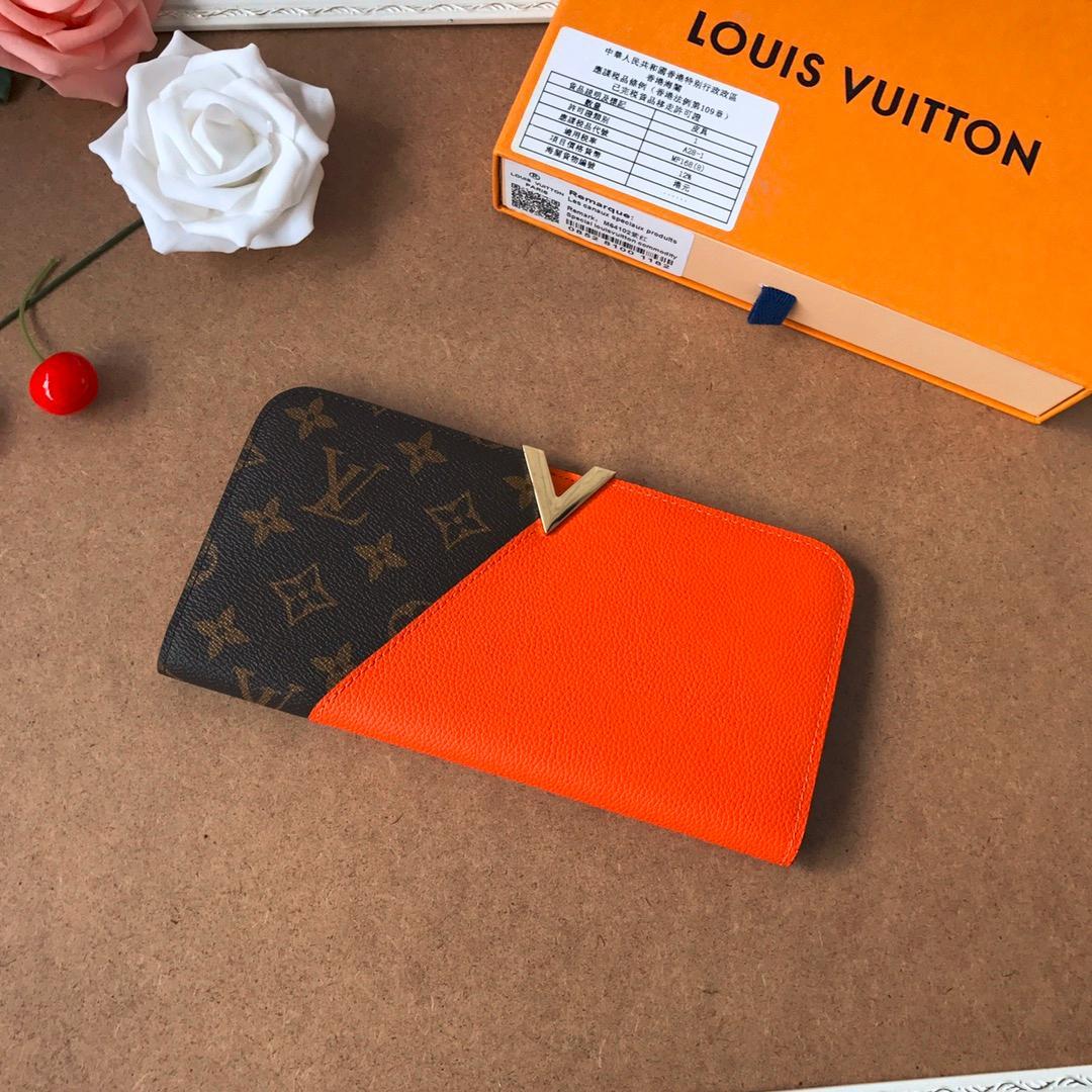 Сумочки женские клатчи кошелек кошельки мужские портмоне бумажника держателя карты натуральной кожи с коробкой