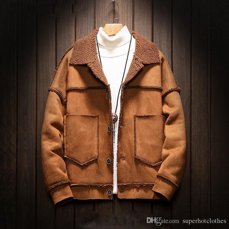 New Men's Short Jackets Mens Bomber Jackets Motorcycle Fleece Liner Coats Mans Stylish Top Quality Overcoats M-5XL
