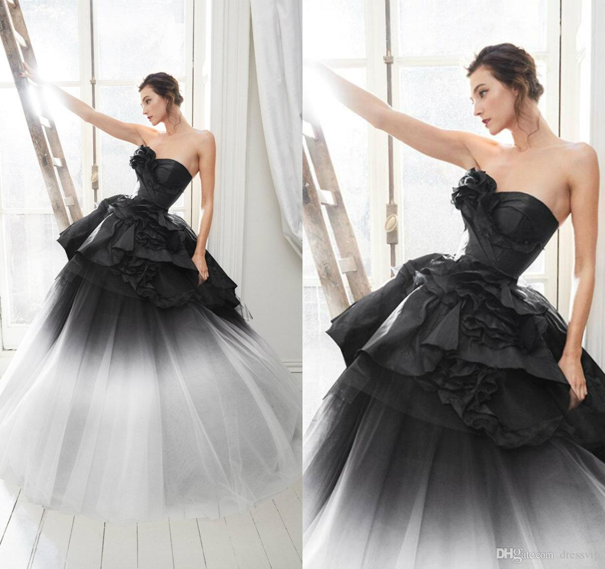 2020 Marchesa Gradient Evening Dresses Sweetheart Ruffles Tiered Skirts New Prom Dress Party A Line Formal Occasion Gowns