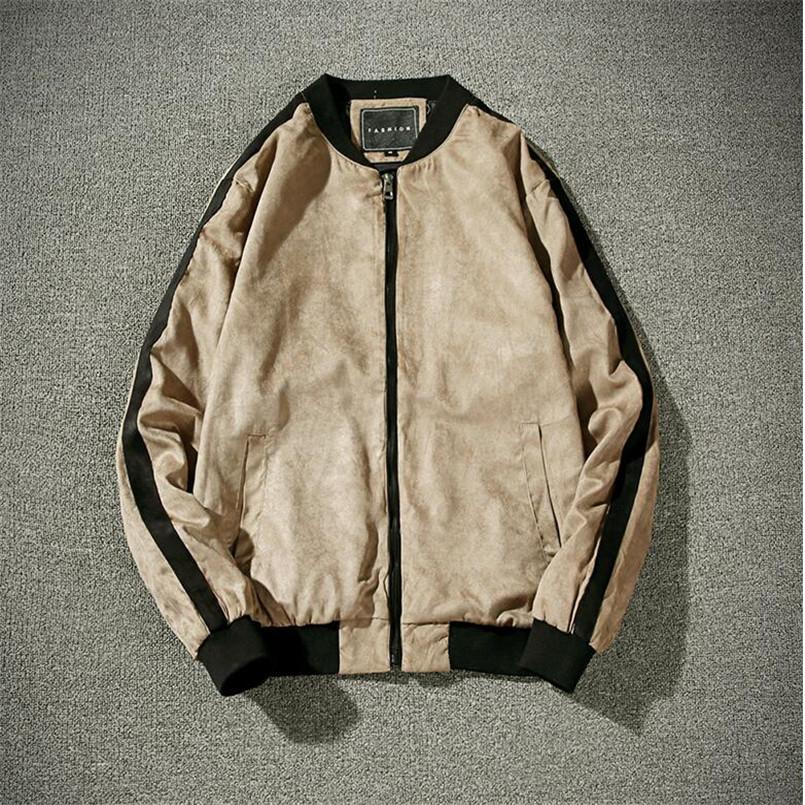 Mens Plus Size3XL nuevos hombres chaqueta de bombardero Escudo Slim Fit Jaqueta Masculina Veste Abrigo Homme Marca Ropa Casual Male Outwear