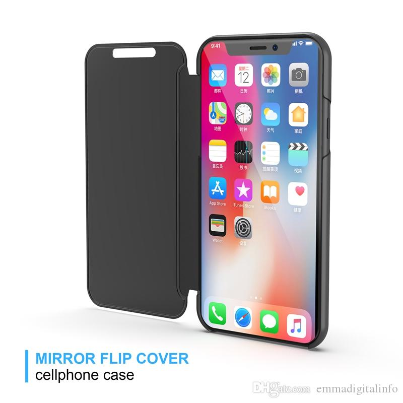 Clear View Cover For iPhone 6 6S 7