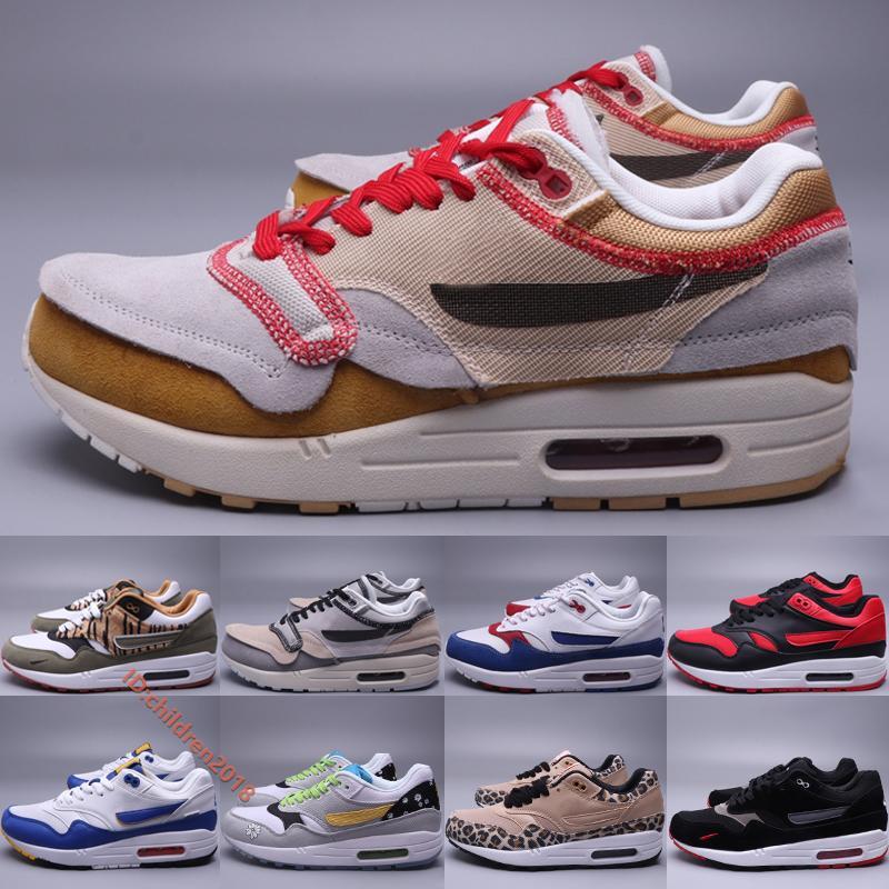 Yüksek Kalite 1/87 Koşu Ayakkabıları Erkekler 2020 Tasarımcı Hayvan Daisy Leopar Bred Out Kulüp Altın Çöl Kum Sneakers Boyutu 36-45