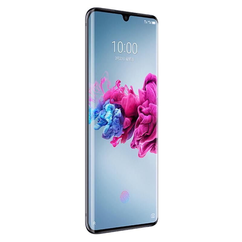 "ZTE origine Axon 11 5G Téléphone mobile 6Go RAM 128Go ROM Snapdragon 765g Octa base Android 6.47"" 64.0MP AI visage ID d'empreintes digitales ID Cell Phone"