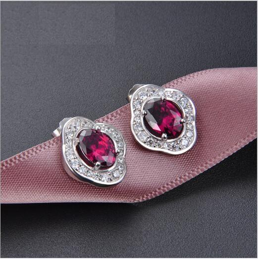 Toptan Avrupa ve Amerikan klasik retro S925 gümüş mücevher earrings405