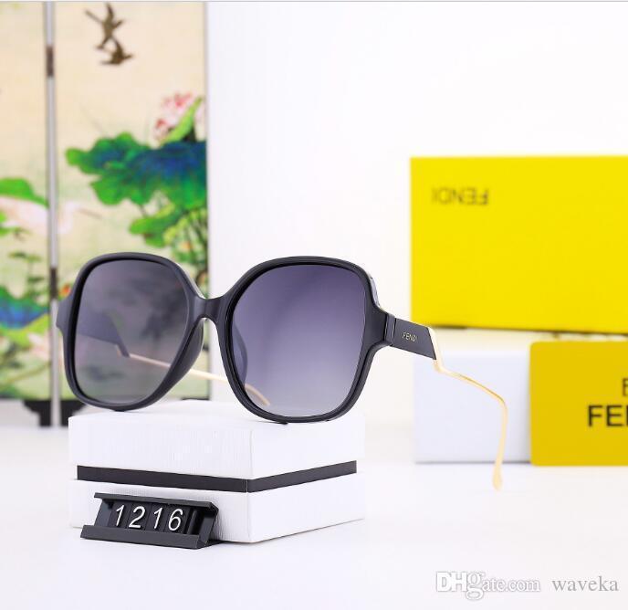 2020 Luxury Fashion Designers Large Metal Sun Glasses For Men Women Glass Lenses UV Protection Sunglasses a1
