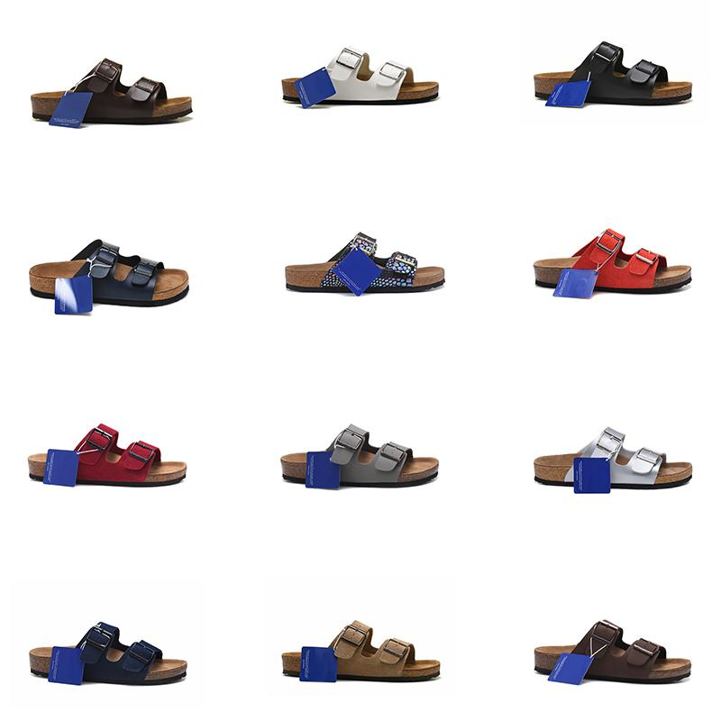 Arizona Birkos Flors Classic Для мужчин, так и для женщин с его вневременным дизайном Новый летний пляж пробковый тапочки флипсайфы сандалии вскользь скольжения