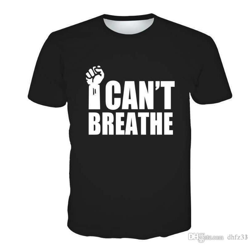 2020 explosion models I can't breathe I can't breathe 3D printed men's t-shirt