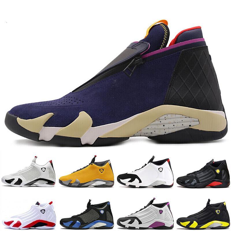 NOVO 14 14s zipper Sneakers Atletismo Exército verde azul escuro champanhe Mens tênis de basquete 14s XIV Last Shot Preto Toe Homens Esporte Designer