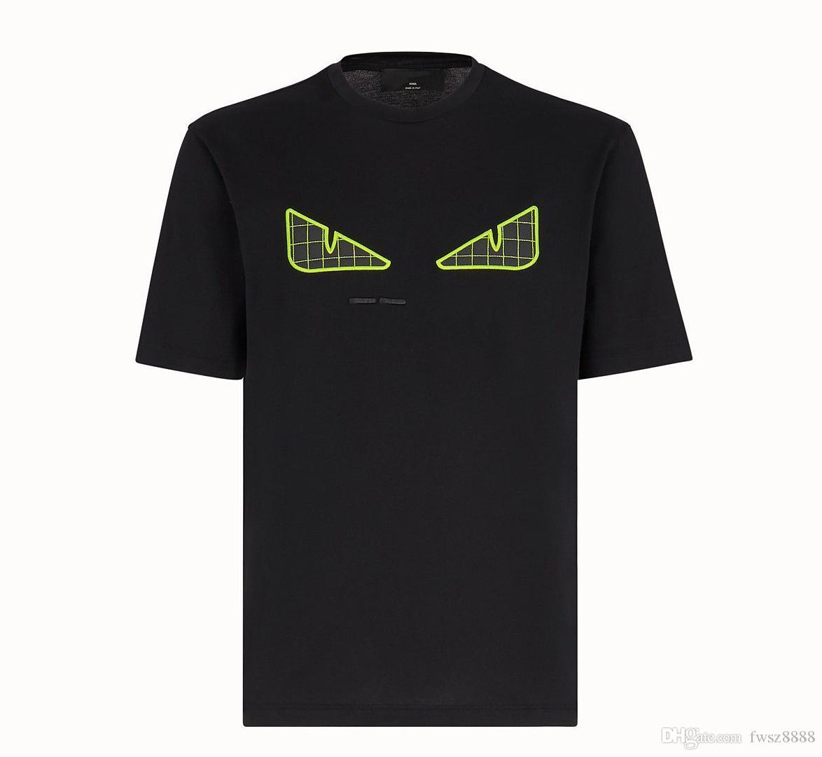 Modello magliette di estate Donne 2020SS nuovo Mens camicia Designer di lusso della moda di Parigi maglietta maschio superiore 100% cotone Top Tee 256.591