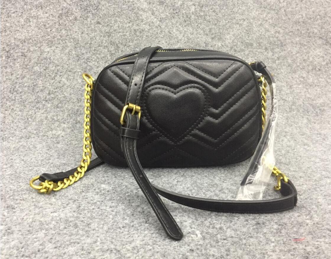 High Quality New Luxury donne del progettista Borse Famoso Oro Borse catena della spalla Crossbody Bag Soho Disco Borsa a tracolla della borsa del portafoglio 4 colori