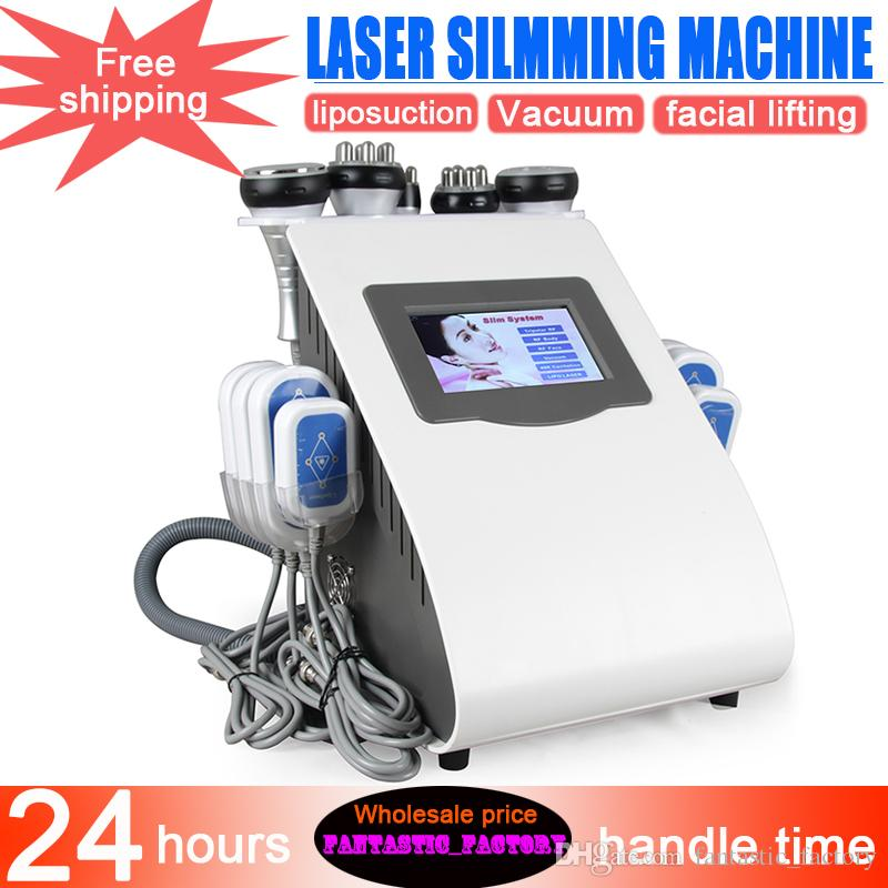 NEW Multifunktions-RF Ultraschall Kavitation Body Contour Abnehmen LLLT Diode Lipo Laser Cellulite Removal Fettverbrennung Salon-Maschine