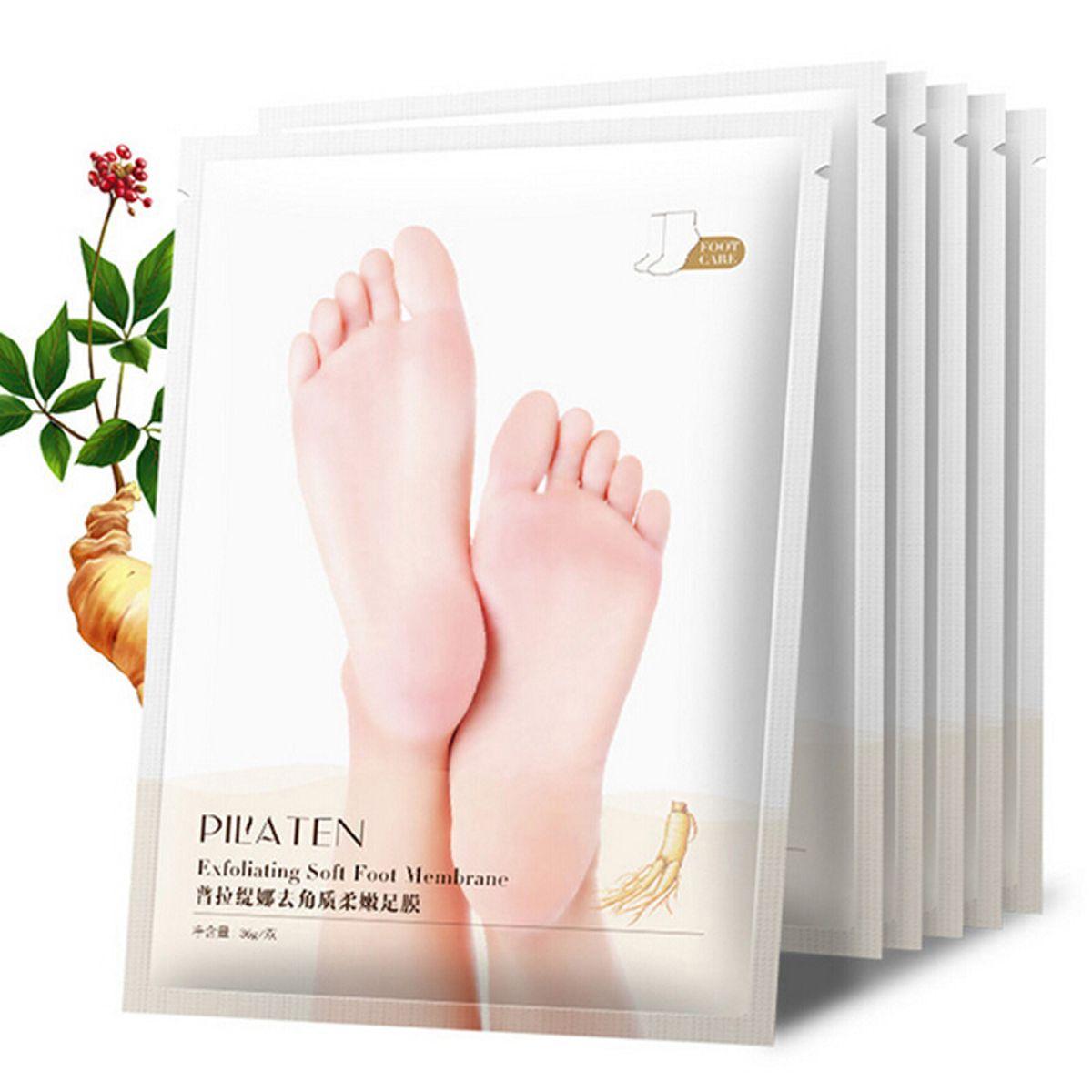 1Pair PILATEN Exfoliating Treatment Foot Mask Socks For Pedicure Baby Peel Feet Masks Skin Care Cosmetics Peeling