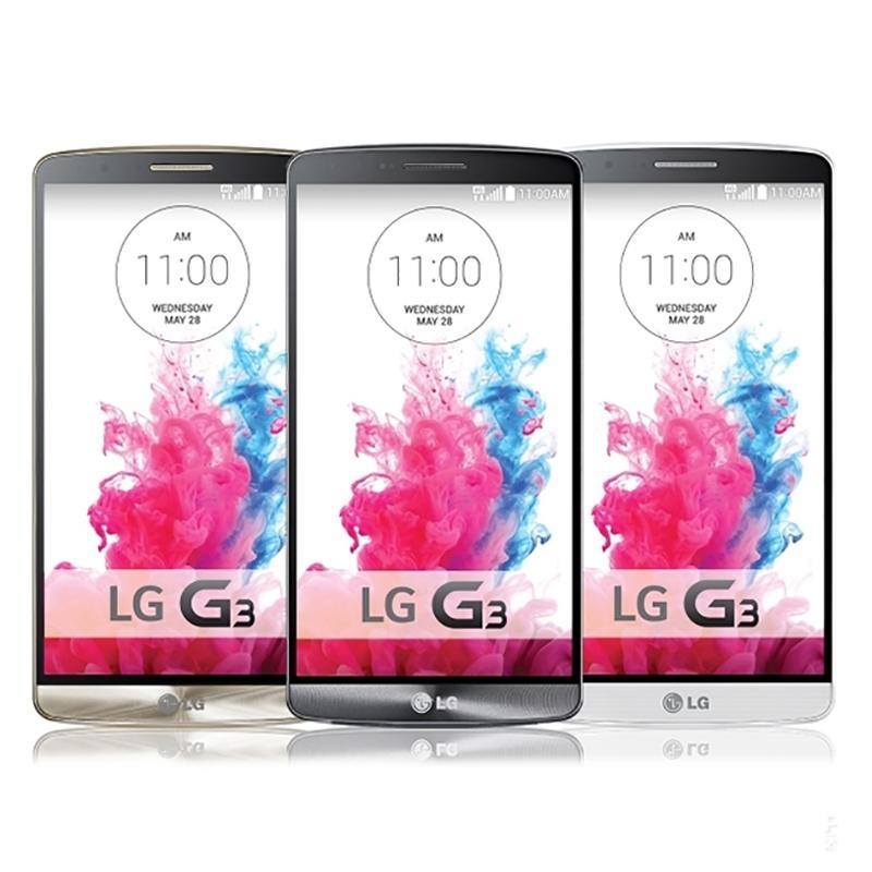 Original LG G3 5.5inch Quad Core 2GB/16GB D855 D851 D850 UNLOCKED Smart Phone 3MP GPS WCDMA Andriod Phone Refurbished Sealed Box