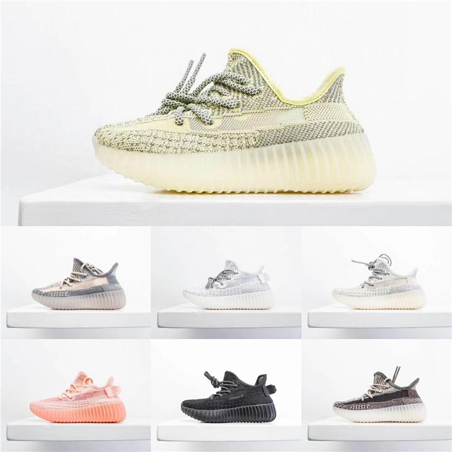 Çocuklar Ayakkabı Beluga 2.0 Koşu Ayakkabı Kanye West V2 Zebra Sneakers Spor Ayakkabıları Erkek Bebek Kız Spor Sneakers Siyah Kırmızı Gri Orange9220 ## 358