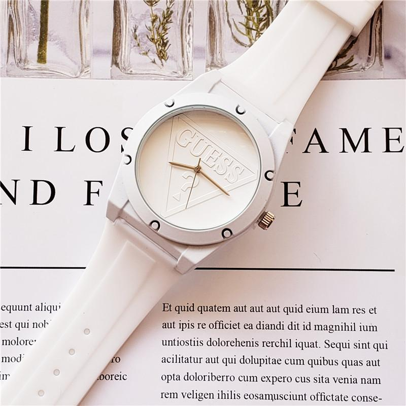 vigilanza del nastro di marca americana vigilanza dell'allievo stile caldo alta qualità di marca minimalista guardare uomini e donne Orologi sportivi Sconto orologi Relo