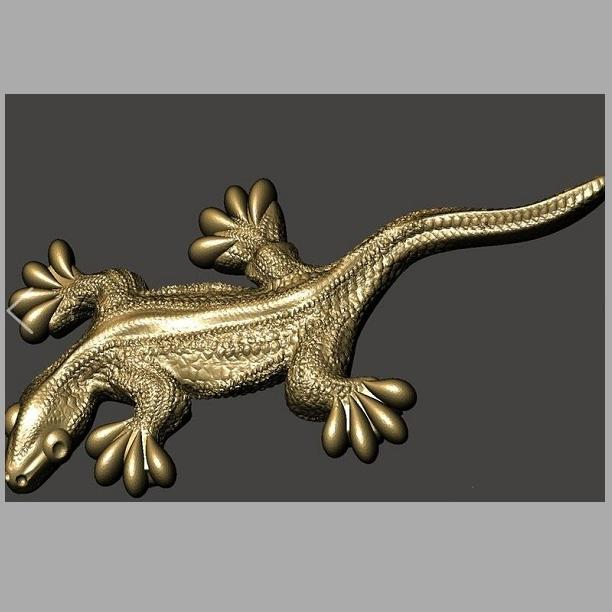 Lizard Custom order high quality high precision digital models 3D printing service Artistic things ST2553