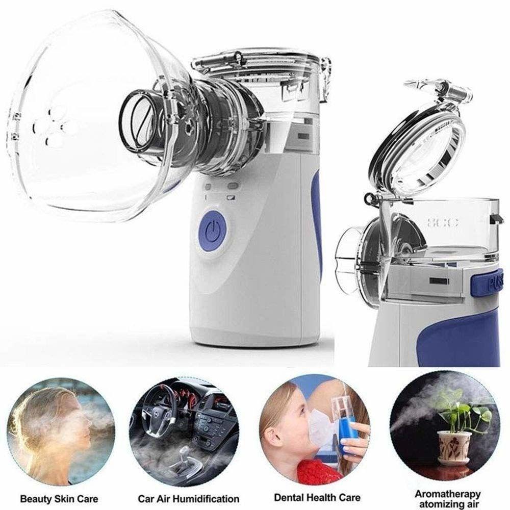 Minihandportable Inhale Vernebler Werkzeug Gesundheitswesen Silent-Ultraschall-Luftbefeuchter Respirator Adult Kid Atomizer Maschine LY191203