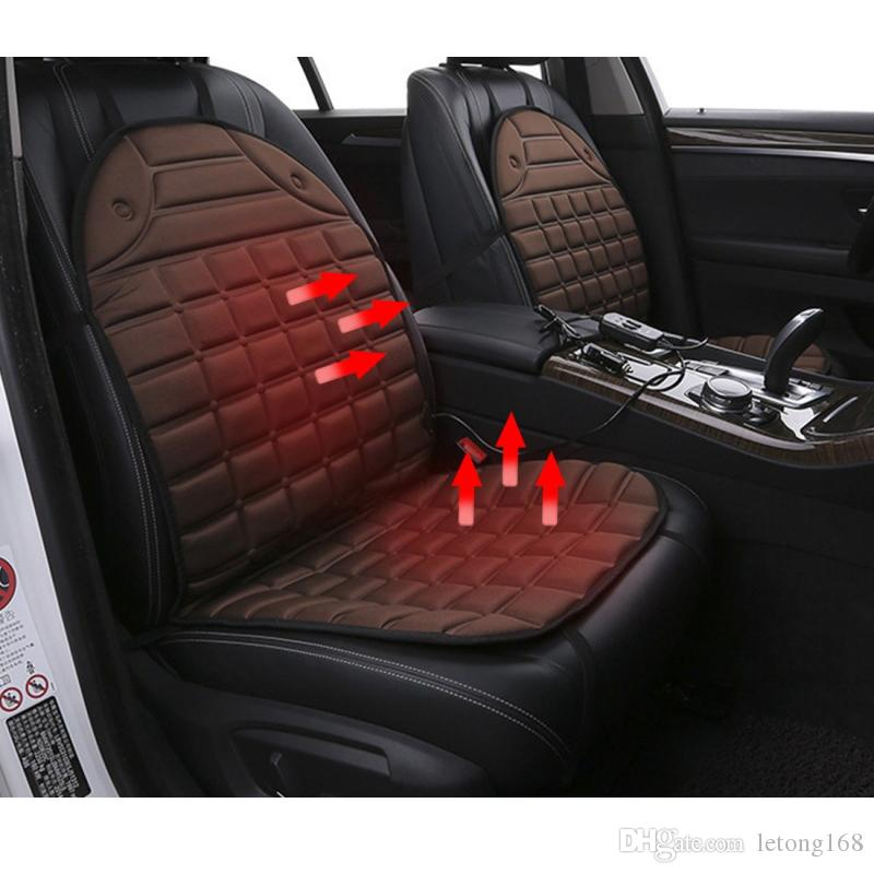 12V Heated Car Seat Cushion Cover Seat Heater Warmer Winter Car Cushion Car Driver Heated Seat Cushion