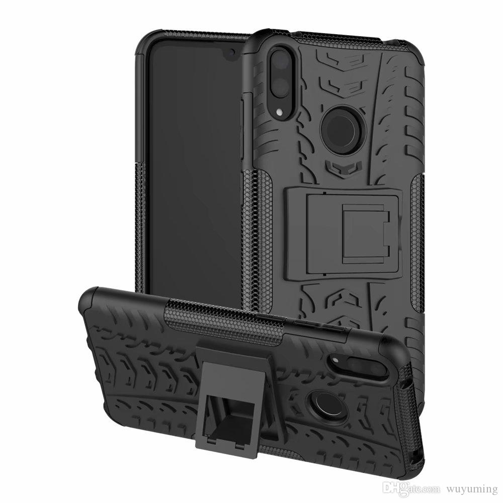 For Huawei Y7 Pro 2019 Case Heavy Duty Armor Shockproof Hybrid Hard Soft Rugged Rubber Cases Cover For Huawei Enjoy 9 Case