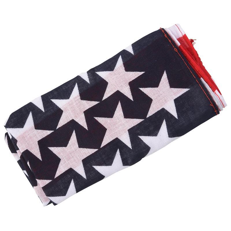 2020 Handkerchief / Bandana For Head Hair US Flag Design