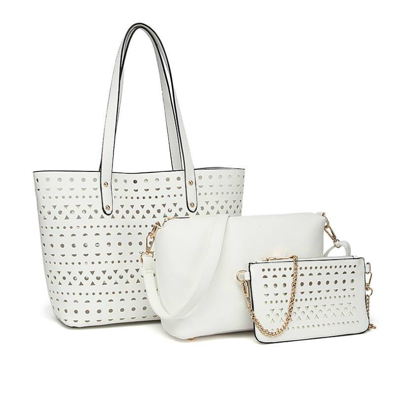 Haute Qualité Femmes Marque Mode Marmont de luxe de sacs en cuir PU Sac à bandoulière Sacs à main 3pcs Sac à bandoulière # n3x8j