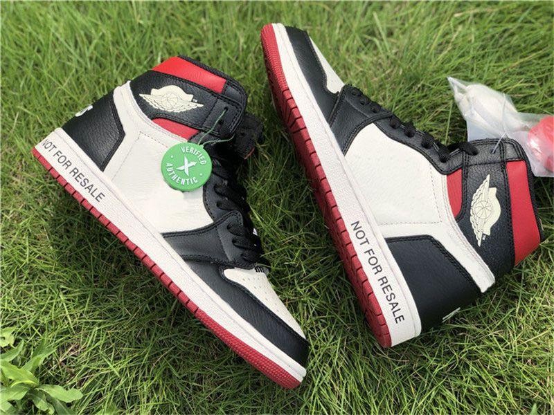2018 Authentic 1 Alta OG NRG Não L's Varsity Red Milho Não Para Revenda Pack Vela Preto Sapatos De Basquete Das Mulheres Dos Homens Sneakers 861428-106 Com Caixa