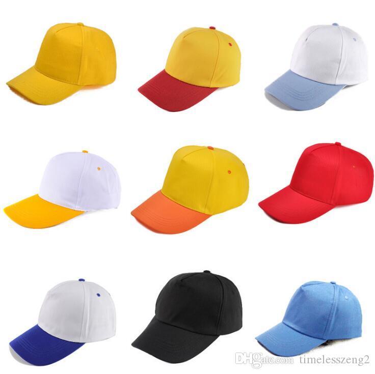 성인 아이 골프 야구 모자 조절면 캐주얼 모자 레저 모자 사용자 정의 봄 여름 스냅 백 모자를 인쇄 캡을 정점